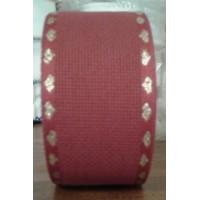 3307 Aida 16ct Rosso/oro 5,5cm