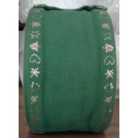 510725 Aida 16ct Verde/oro 9 cm