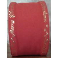 510727 Aida 16ct Rosso/oro 9 cm