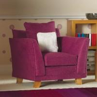 3621 Soft Plum Armchair