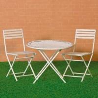 4356 White Table e Chair