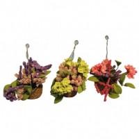 D1632 Flower Hanging Basket