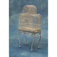 Large White Birdcage DF561