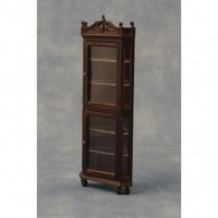DF1210  Display Cabinet Oak