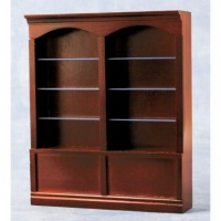 Double Shelves Mahogany 9229