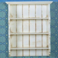 Aged Cream Wall Shelves 3068