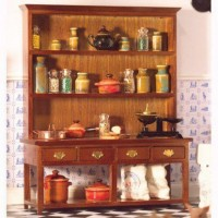 Large Dresser Walnut 5863