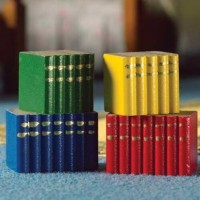Blocks of Books, 4 pcs -4871
