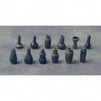Blue Vase 12asst D80445