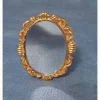 Antique Gold Mirror D2272