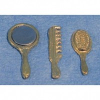 Brush, Comb, Mirror Set D103