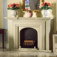 5156 Grey Georgian Fireplace