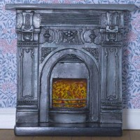8091 Victorian-style Fireplace