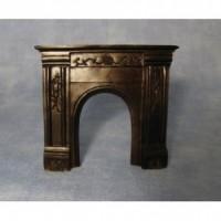 Black Fireplace DF683