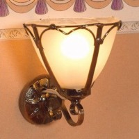 Art Nouveau Wall Light-2887