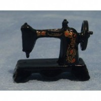 Sewing Machine Black Metal D015