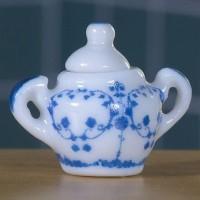Delft Style Sugar Bowl 1081