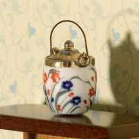 Floral Biscuit Barrel 3312