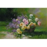 De Levault- Rose e Fiordalisi