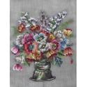 J23413 DT Blumenstrauß in Vase
