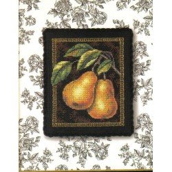 Dm -Pears on Toile