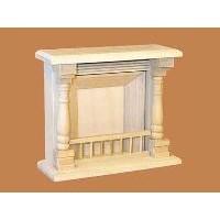 Barewood Small Fireplace