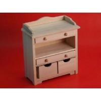 Barewood storage chest