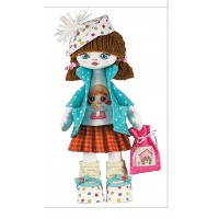Sewing dolls-Birthday Girl