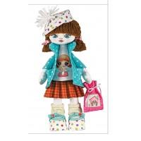 Sewing dolls-Birthday Girl