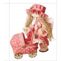 Sewing dolls-Angel