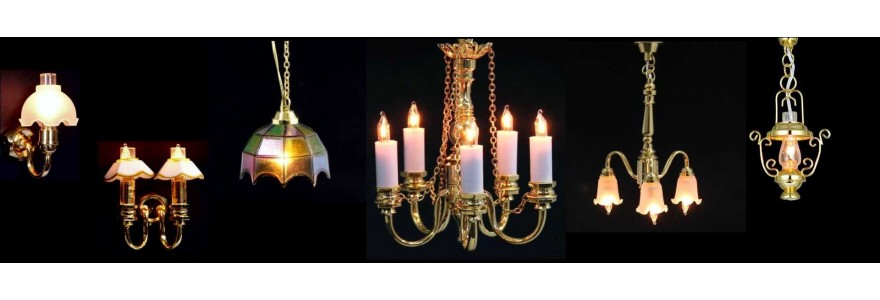 Candles and Electric Lighting  (Candele & Illuminazione Elettrica)